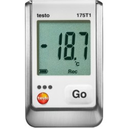 Set Data Logger de temperatura 175-T1 con certificado ISO 05721751+CR Testo Termómetros certificados norma ISO 355,00 € 355,0...